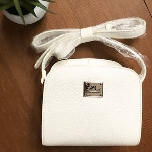 Jessica Moore White Small Handbag Purse BRAND NEW